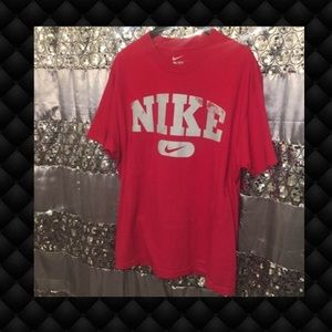 Nike Red T-Shirt Size Large
